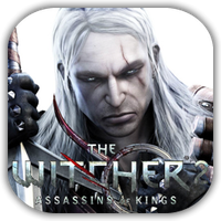 The Witcher 2 Game Icon by Wolfangraul