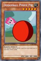 Dodgeball Pinkie (MLP Dodgeball): Yu-Gi-Oh! Card by PopPixieRex