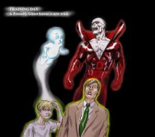 Casper the Friendly Ghost and Deadman by Nick-Perks