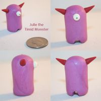 Julie the Timid Monster by TimidMonsters
