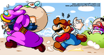 MARIO THAT'S NOT THE RIGHT RABBIT by JamesmanTheRegenold