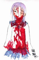 Blood mess... by y4