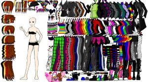 my perfect wardrobe - dress up by fallenangels500