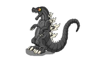LOL, Godzilla by Scatha-the-Worm