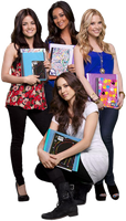 Little Pretty Liars  Cast  PNG by ShutupDemi