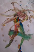 Ribbon Dancer - By Alissa, Age 2 by nomibubs