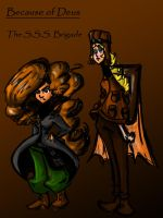 Thera and Cassius- Because of Deus by Projectile-Vomiting