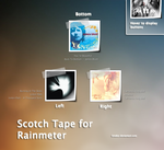 Scotch Tape for Rainmeter v1.2 by KreDoc