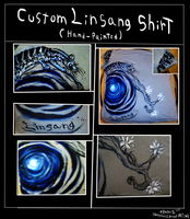 Custom Linsang Shirt Design by NinjaFerret22