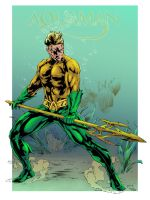 Aquaman by caananwhite and jo ink {COLORS} by carol-colors