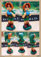 Young Link mini sculpture by lazyperson202