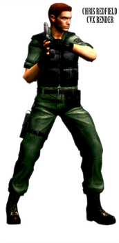 'Chris Redfield CVX Render' by RenegadeOperative