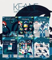 Keane cell phone theme. by The-Shadowsea