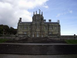 Margam Castle Stock 3 by Sequeena-stock