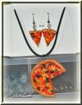 Completed Pizza Jewelry by MadamLuck