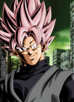 Goku Black SSJ Rose by Majingokuable