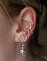 Simple Ear Cuff by LiquidSilver1