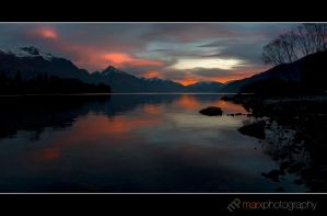Queenstown Reflections by mark-flammable