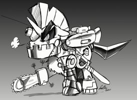 BUTCH: the MEGA DEATH MLP by SupaCrikeyDave