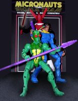 MICRONAUTS TEAM SIGMA by bohnded