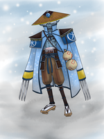 Kotetsu the Wandering Blizzard by k-the-dragonknight