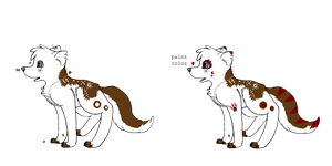 Canine adopt :Action OPEN: by Accalialove