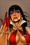 Vampirella 10 Cover Colors by FabianoNeves