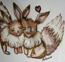 CutieEvees by PieChan34-Creations