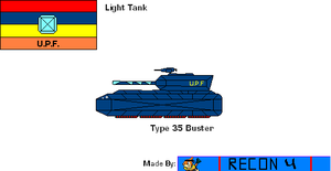 Starfox Hybird Ascension Profile: LTank: Type 35 by BusterBuizel