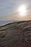 Arran, rocks, sea and sky by Sagereid