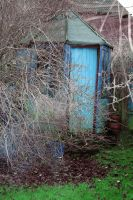 The Garden Shed by EsquisiteArt