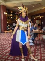 Pharaoh Atem cosplay by ILUVYAMI111