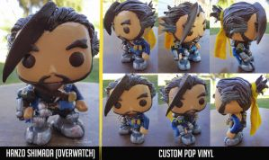 Hanzo Shimada Pop Vinyl by HavocGirl
