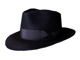 black hat png stock by DoloresMinette
