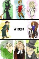 Wicked Characters by vimfuego