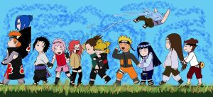 Naruto Chibi Couples by Irisu by KanashimiRaven