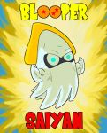 Blooper Saiyan by ProfessorBroomhead