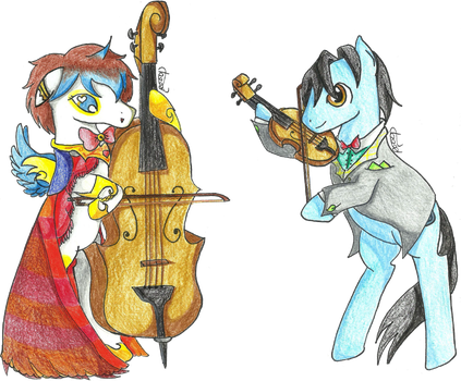 [YCH] Orchestra_Kushell by rainbow000pegasus