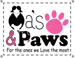 Final Mas and Paws Logo by KCCreations
