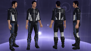 Kaidan Alternate Appearance: Biotic Recruit by IncheiaPace