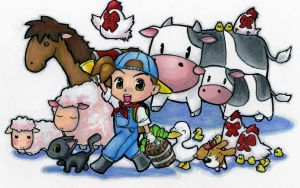 Harvest Moon DS by Whizman