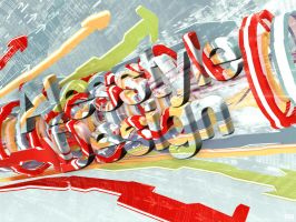 Alesstyle Design 3D Text by TheAlessandro