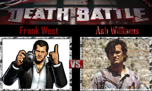 Frank West vs Ash Williams by SonicPal