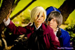 Alois and Ciel by Rave2theJ