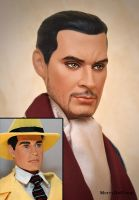 Repaint of Dick Tracy by mary-vassilieva