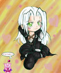 Chibi Sephiroth by Miko-the-moogle