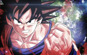 Goku, Defender of The Universe by EnIgMoZz2