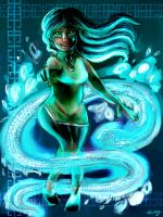 Water Snake Year by Tessay