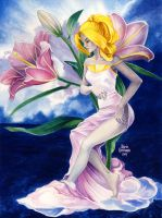 Lily Reverie by Maria-Ylla
