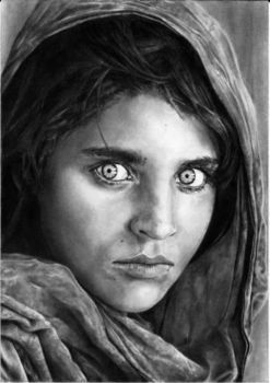 Afghan Girl - Gula by Petronas